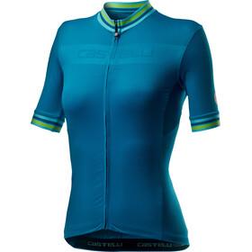 Castelli Promessa 3 Maillot Manches courtes Femme, marine blue